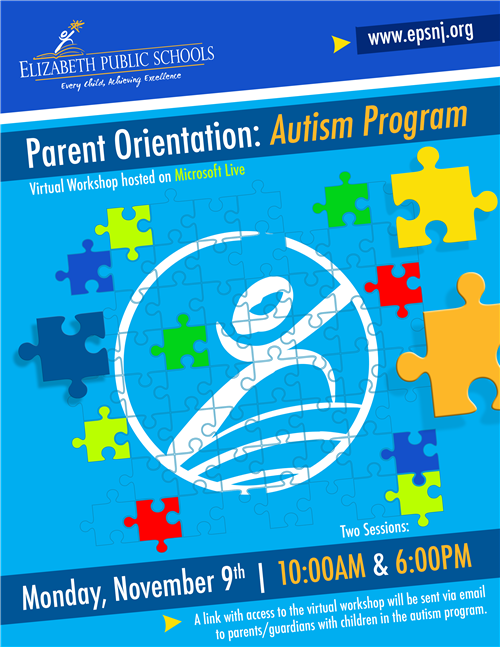 [Virtual] Parent Orientation for Autism Program
