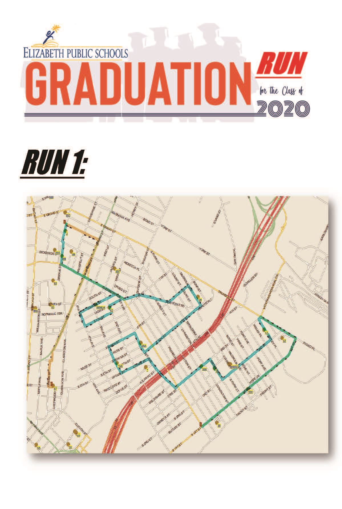 Graduation Run/Parade