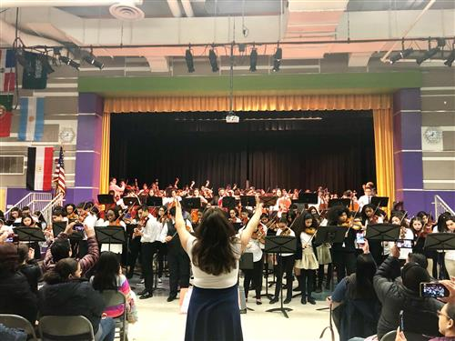 160 Elizabeth String Musicians Take the Stage at Dr. Orlando Edreira Academy - 7th Annual Strings Night Out