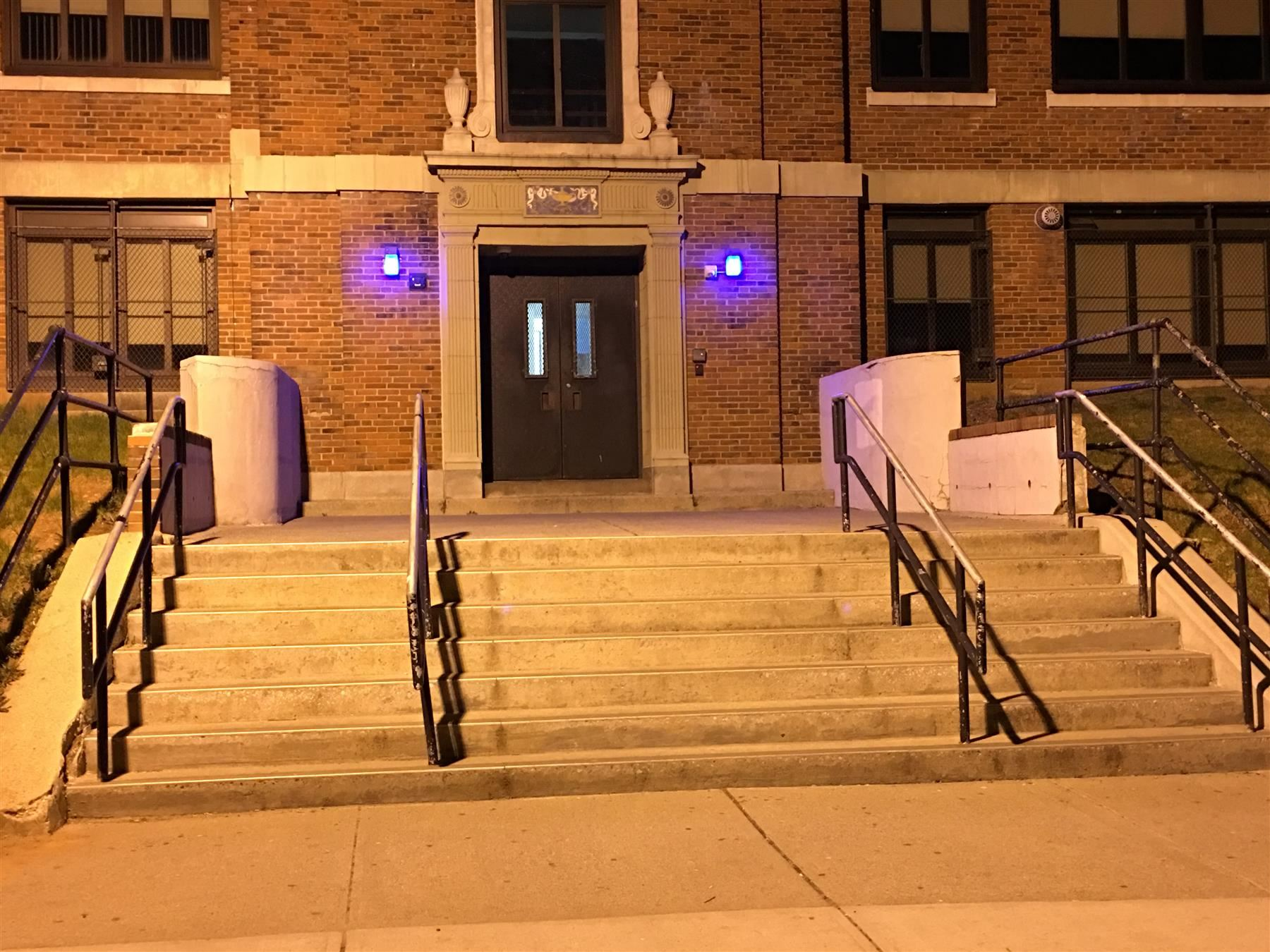 EPS 'Lights It Up Blue' for World Autism Month
