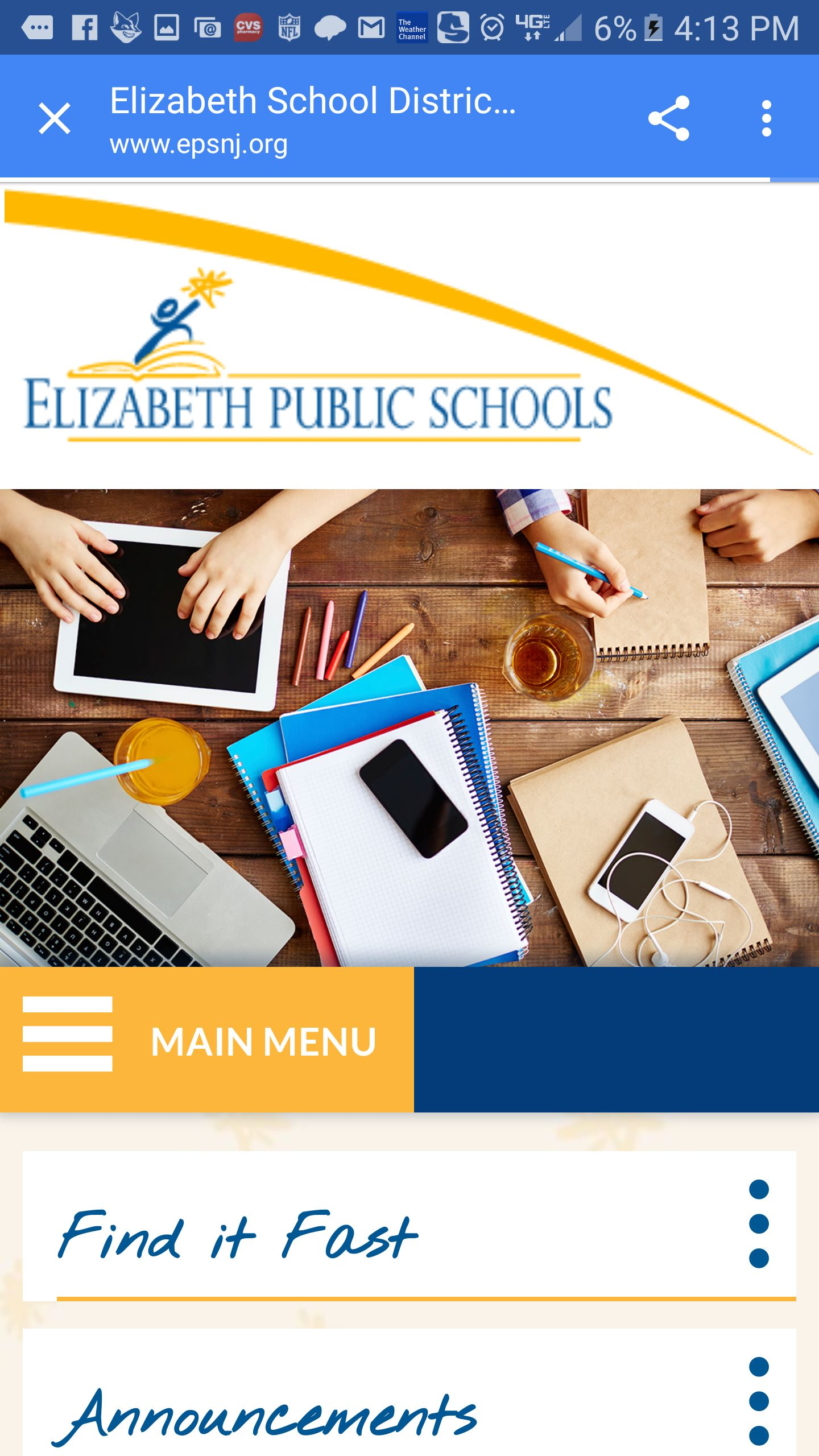 EPS partners with Blackboard to deliver engaging new website