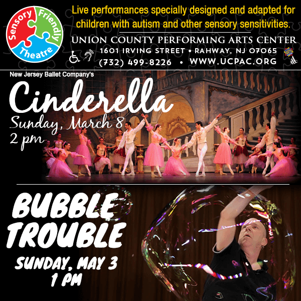 "Sensory Friendly Theatre ""Bubble Trouble"" and ""Cinderella"""