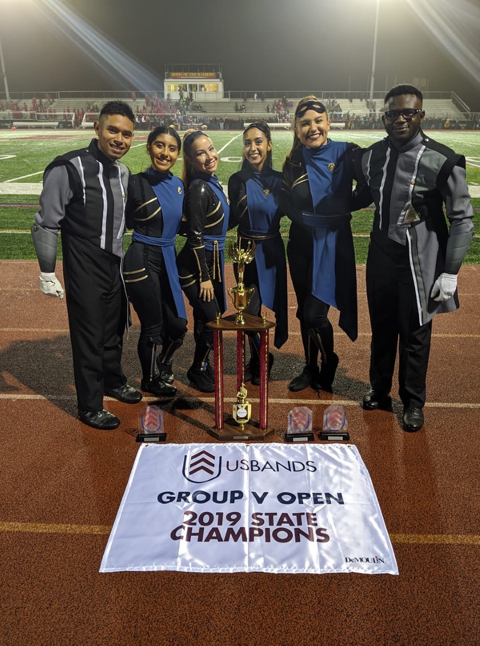 EHS Marching Band are New Jersey State Champions!
