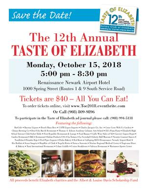 The 12th Annual TASTE OF ELIZABETH