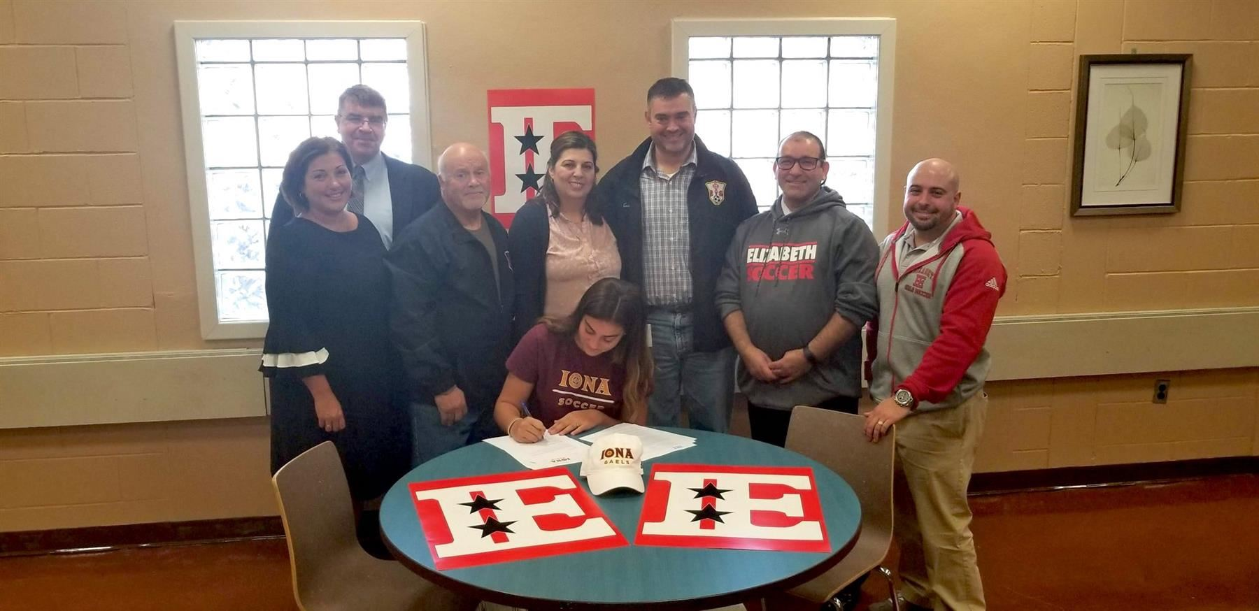 Congratulations to Victoria Bastos on accepting a full Division I Athletic Scholarship to Iona University.