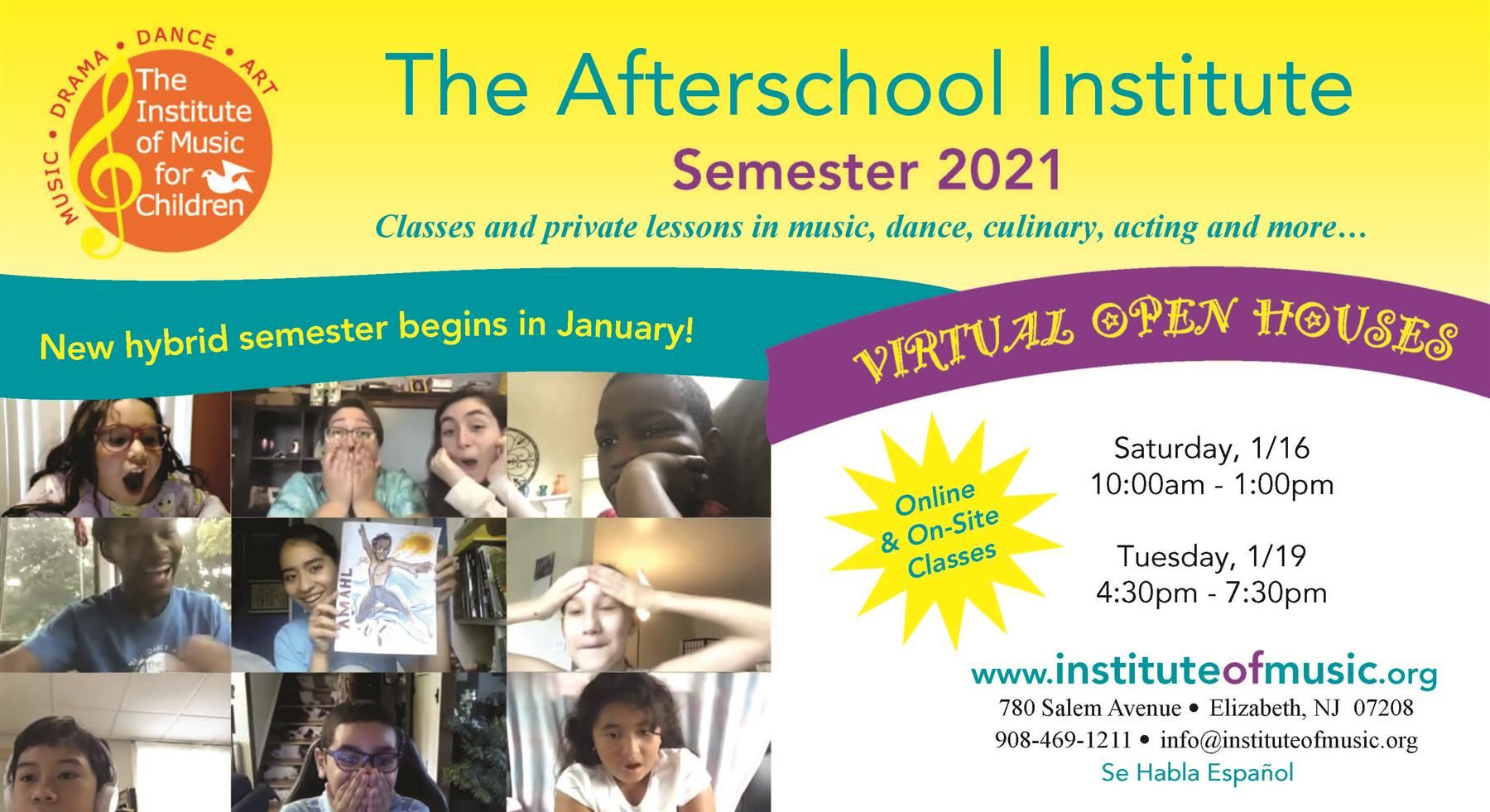 The Afterschool Institute Semester 2021