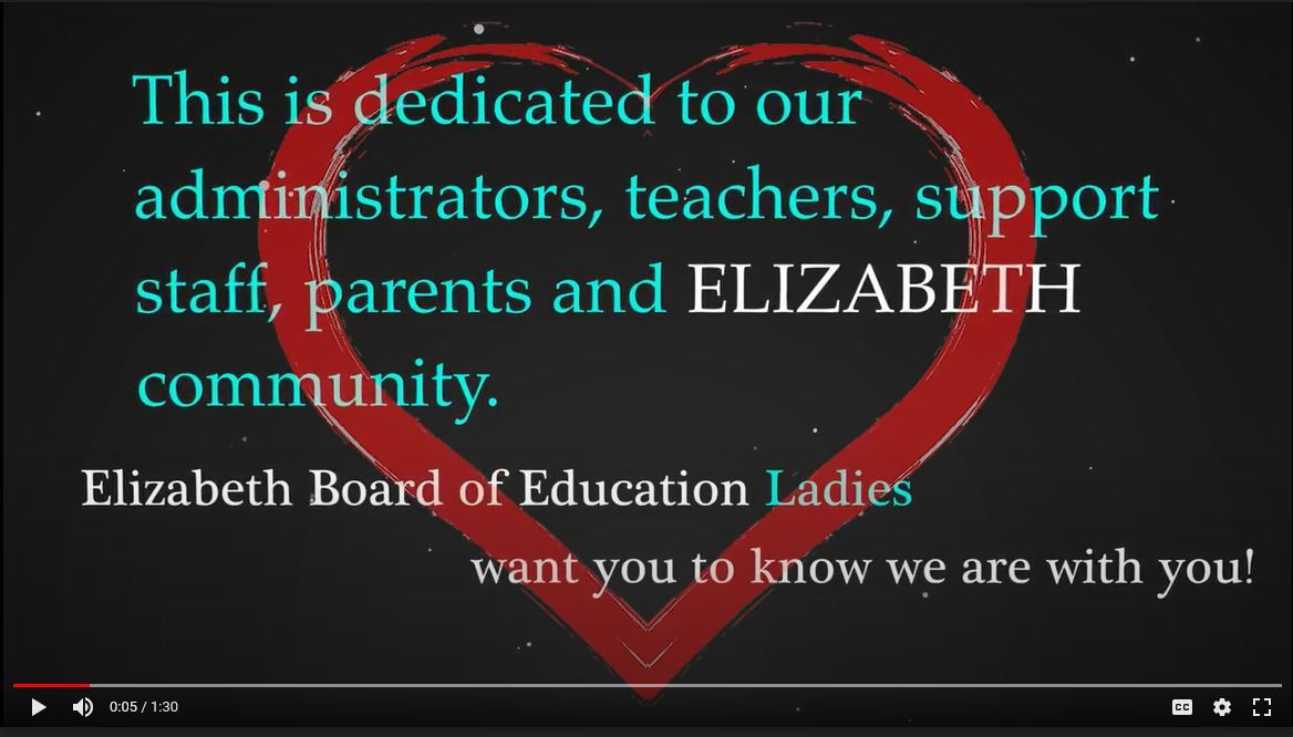 EBOE Ladies Honor our Admins, Teachers, Support Staff, Parents and Elizabeth Community