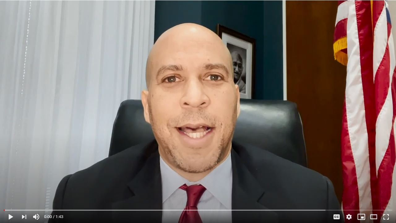 Senator Cory Booker's Message for Black History Month 2021