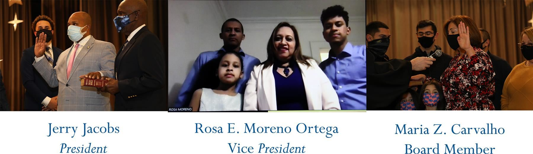EBOE Selects Jerry Jacobs as President, Rosa E. Moreno Ortega as Vice President at Reorganization Meeting