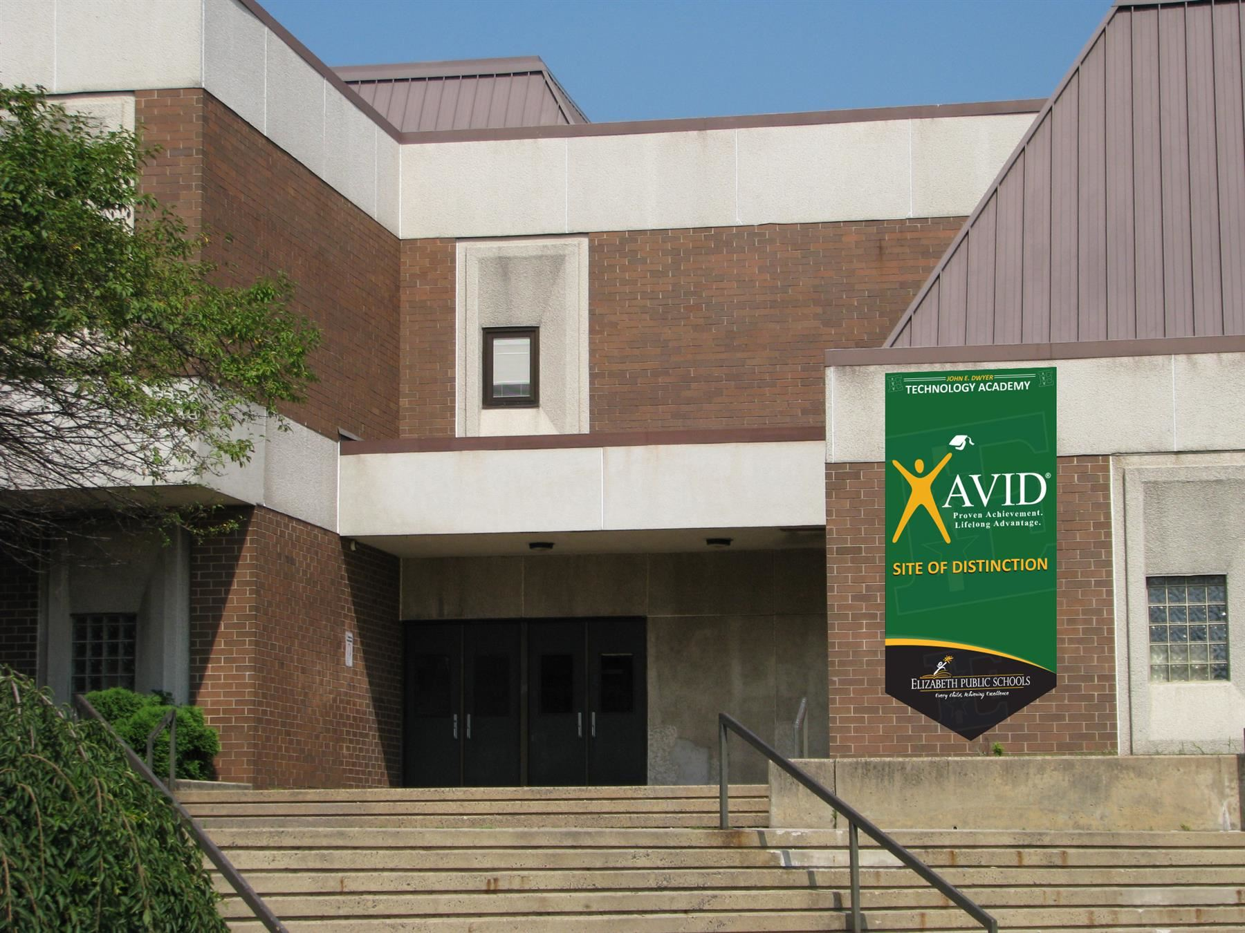 Dwyer Technology Academy Named AVID Schoolwide Site of Distinction