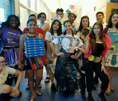 First Annual Upcycle Fashion Show