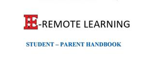 eLEARNING Student-Parent Handbook
