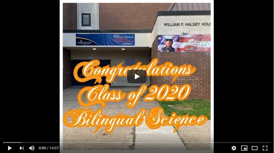 Graduating Bilingual Seniors