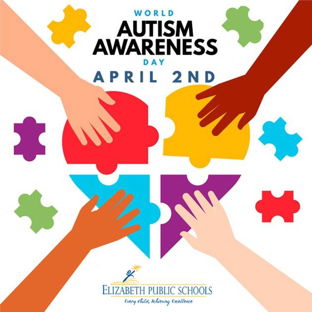 Elizabeth Public Schools celebrates World Autism Day