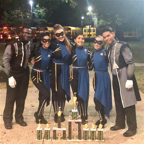 EHS Band Wins 1st Place