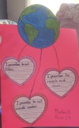 Elmora School 12's 2nd Grade students Celebrate Earth Day!