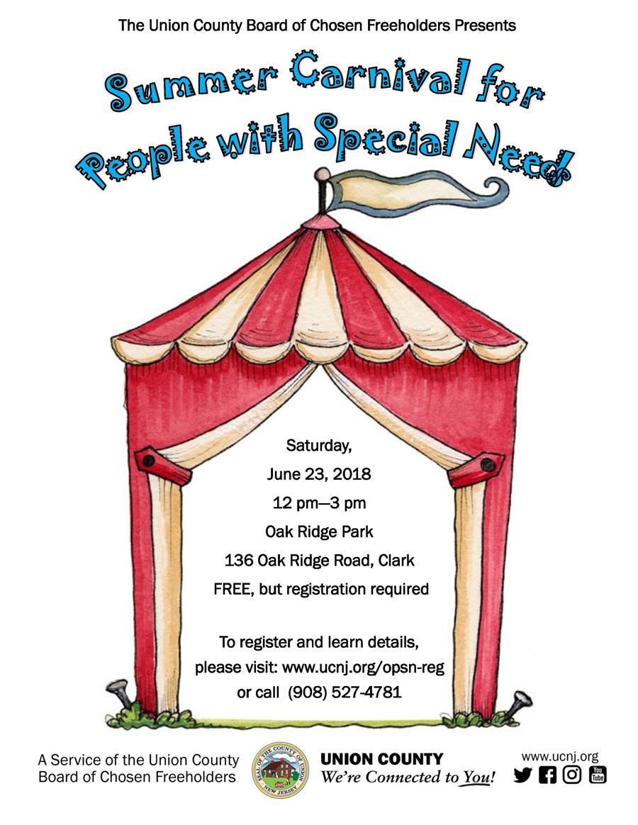 Summer Carnival for People with Special Needs