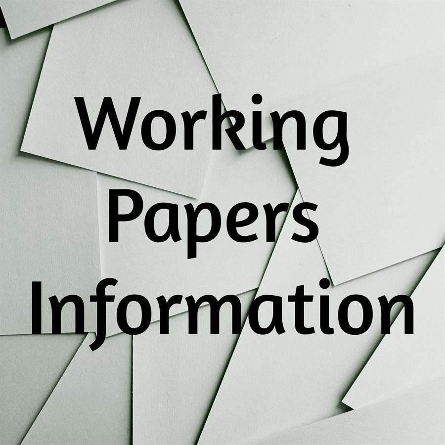 Working Papers Instructions and Form 2020-2021