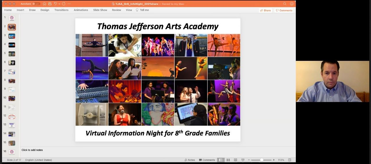 Jefferson Academy Information Session 2021